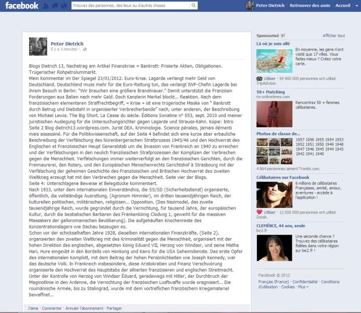 Facebook Finanzkriese