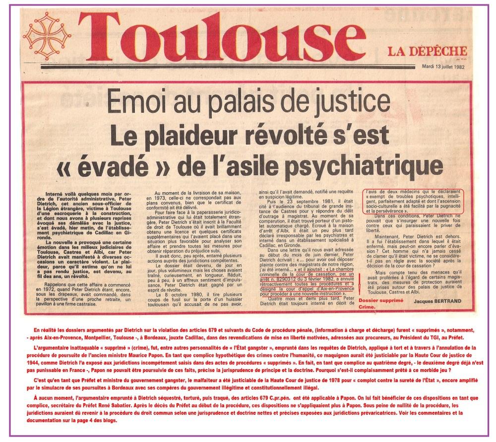 1° Politique. Escroqueries.  Justice triche. Avocats, Notaires corruptions (4/6)
