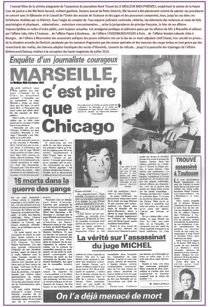Marseille pire Chicago Michel