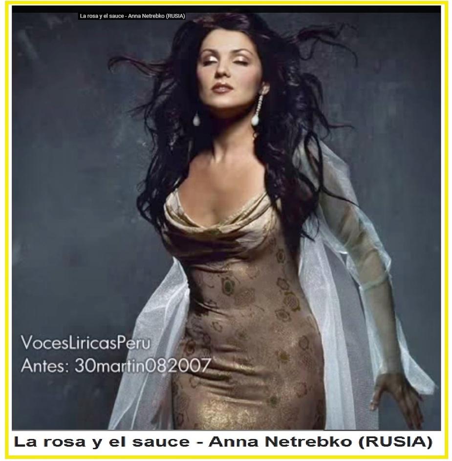 029 La rosa y el sauce - Anna Netrebko (RUSIA)