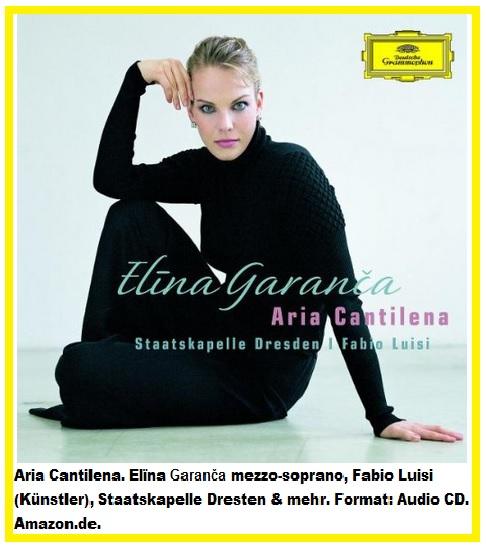 118 Aria Cantilena. Elïna Garanča mezzo-soprano