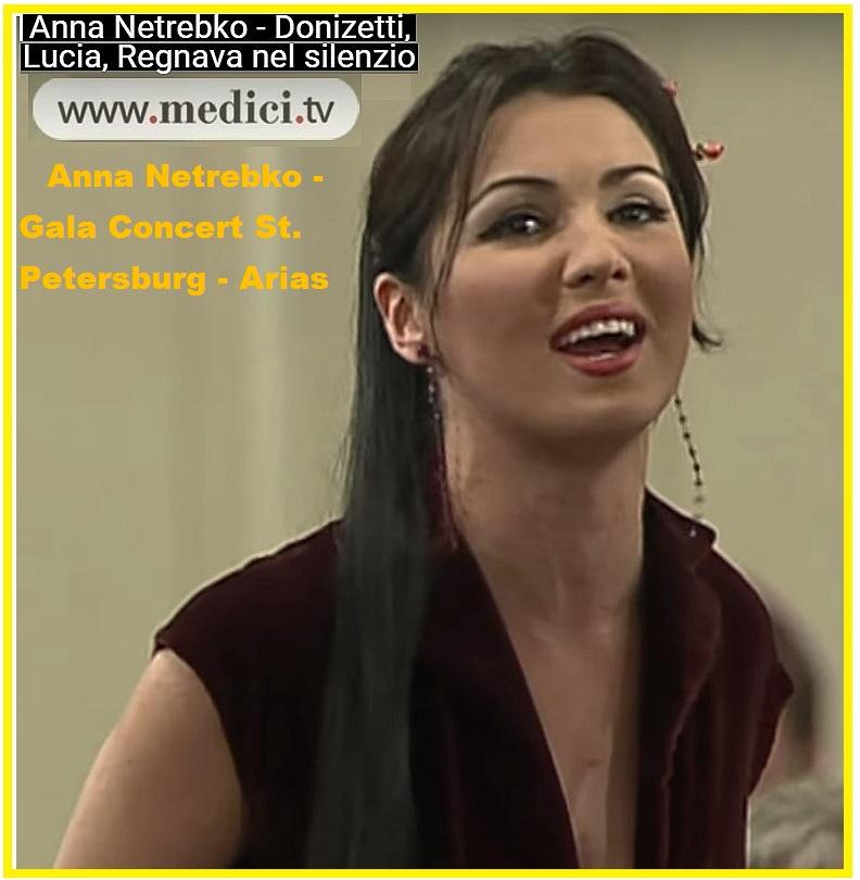 Anna Netrebko 34 - Donizetti, Lucia, Regnava nel silenzioans titre