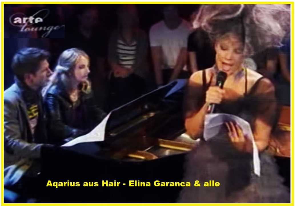 Elïna Garanča 15.Aqarius aus Hair - Elina Garanca & alle