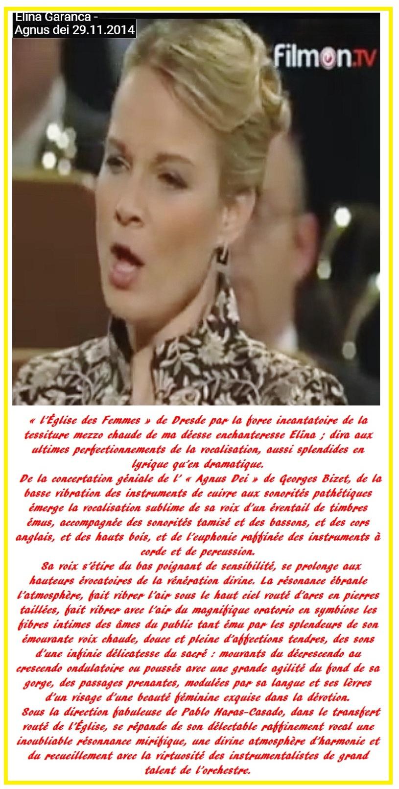 Elīna Garanča 16 - Agnus Dei, Georges Bizet