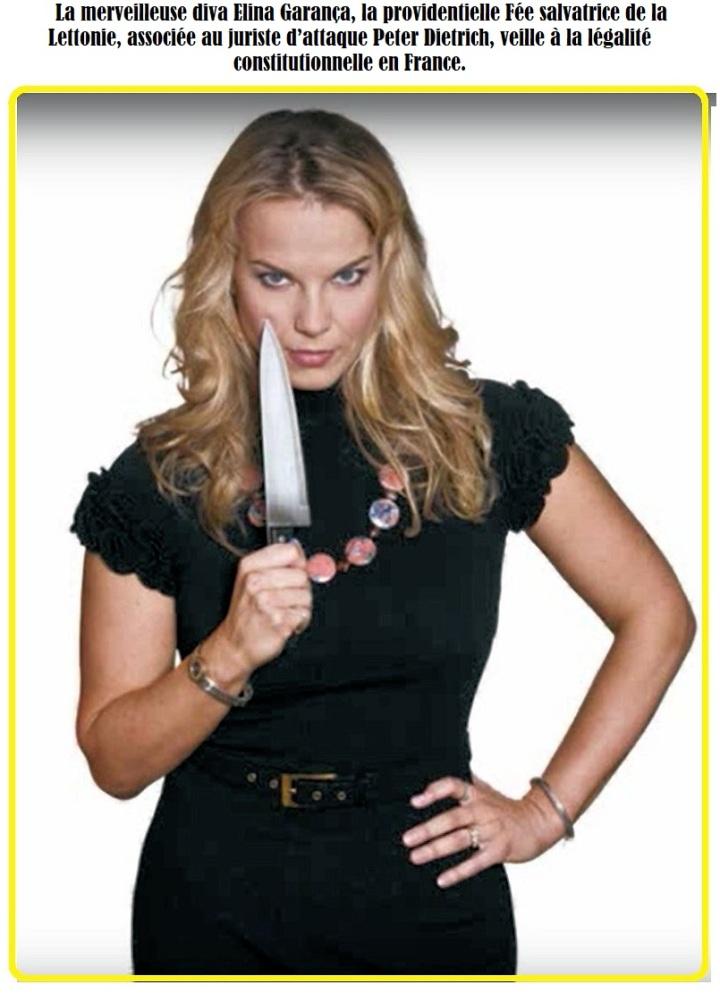 EElīna Garanča Avec couteaux B