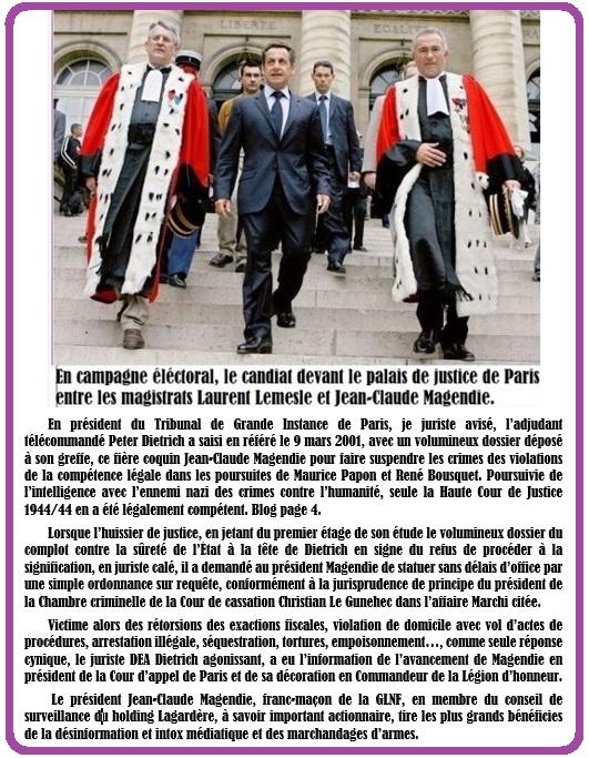 Magendie Réréré TGI Pariis Papon Bousquet