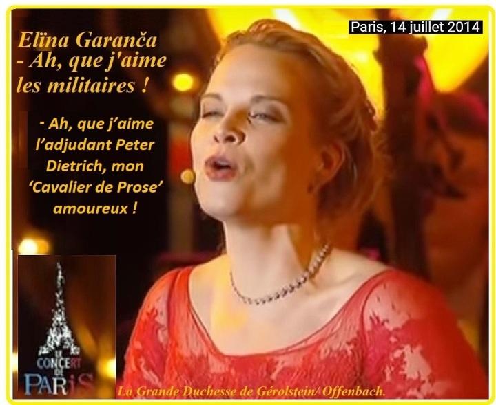 007 Elïna Garanča 33 - La Grande Duchesse de Gérolstein - Ah, que j'aime les militaires !